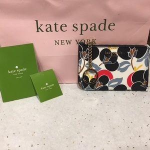 Kate Spade Cameron breezy Floral card holder